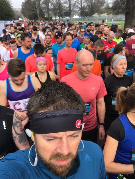 Brighton Marathon 2018 start line