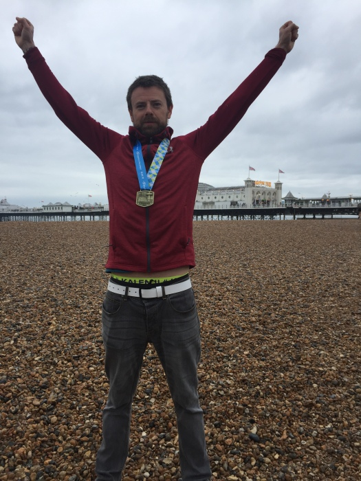 Brighton Marathon Jubilation