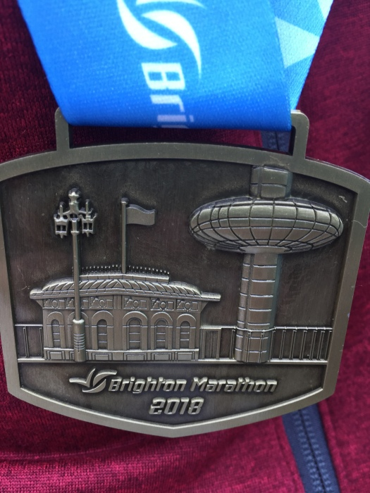 Brighton Marathon 2018 Finishers Medal